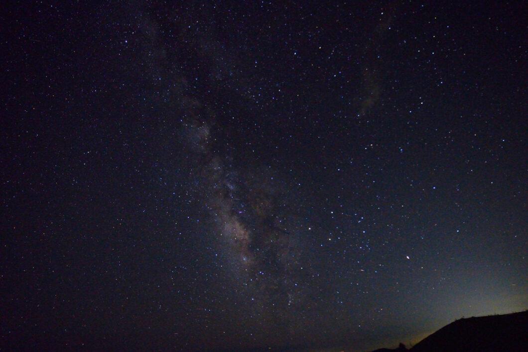 剣山山頂からの星景
